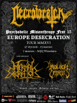Europe Desecration Tour PMF15 Wrzesnia
